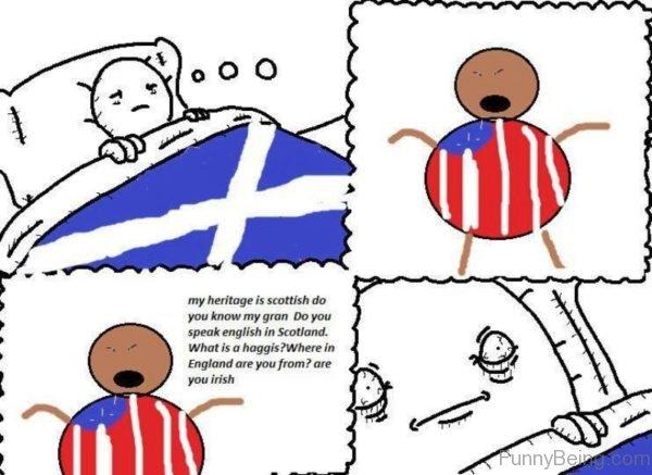 My Heritage Is Scottish