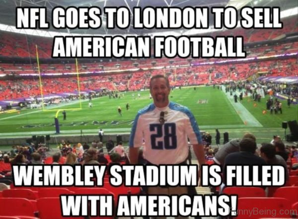 NFL Goes To London To Sell