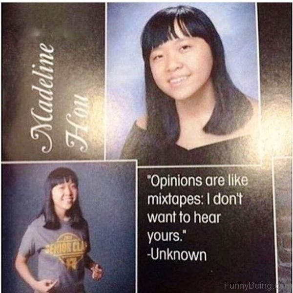 Opinions Are Like Mixtapes
