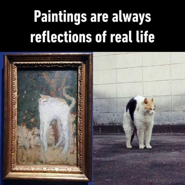 Paintings Are Always Reflections