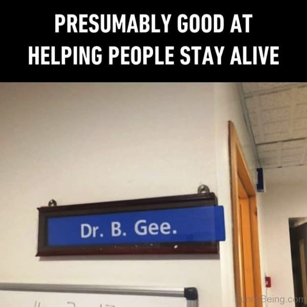 Presumably Good At Helping People