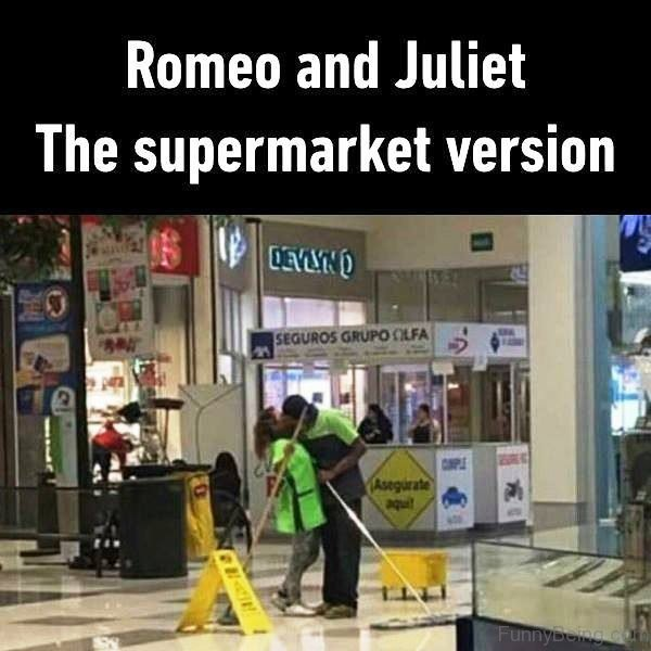 Romeo And Juliet The Supermarket Version