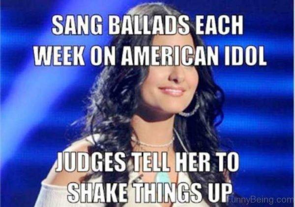 Sang Ballads Each Week On American Idol