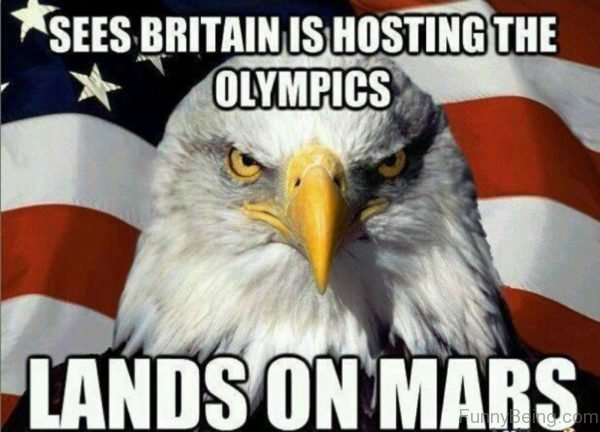 Sees Britain Is Hosting The Olympics