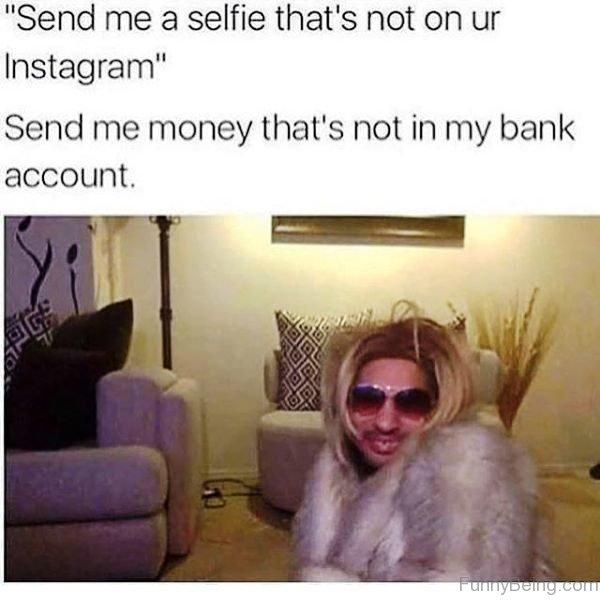 Send Me A Selfie