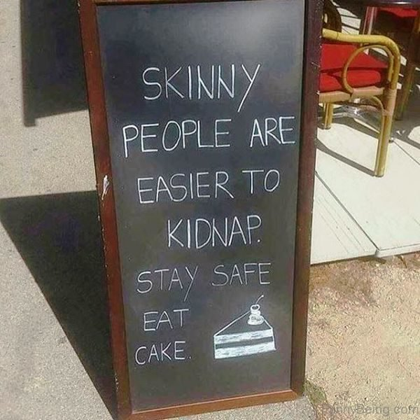 Skinny People Are Easier To Kidnap