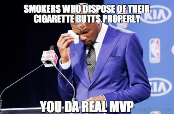 Smokers Who Dispose Of Their Cigarette