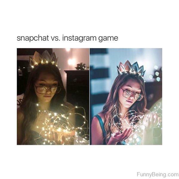 Snapchat Vs Instagram Game