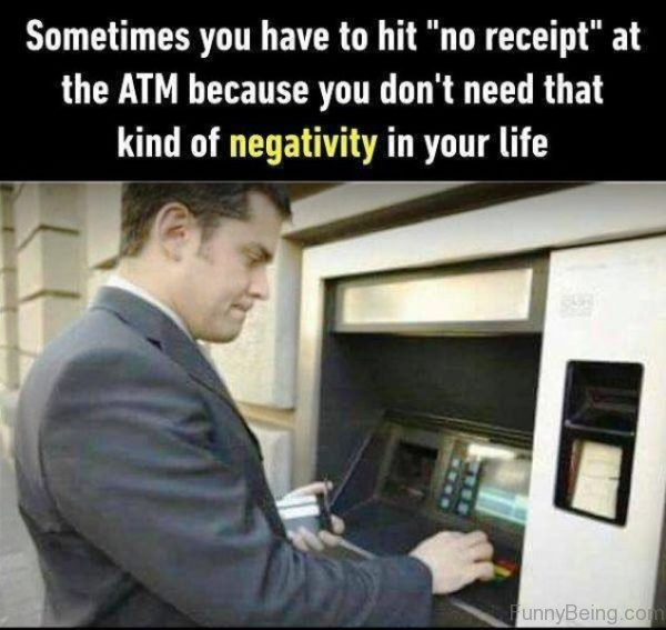 Sometimes You Have To Hit At The ATM