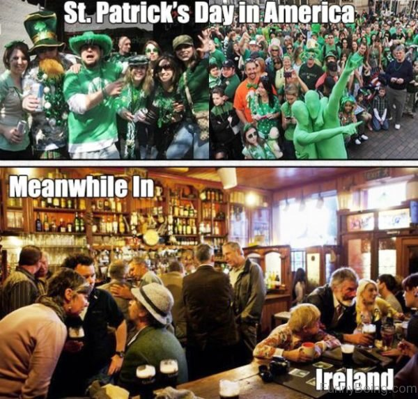 St Patricks Day In America