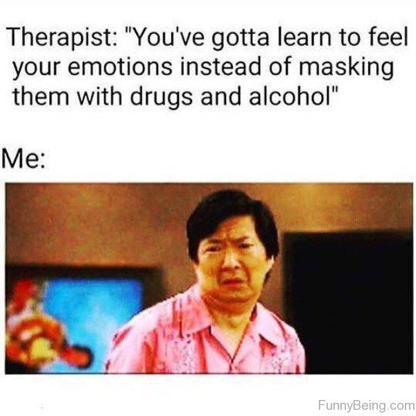 Therapist Vs Me