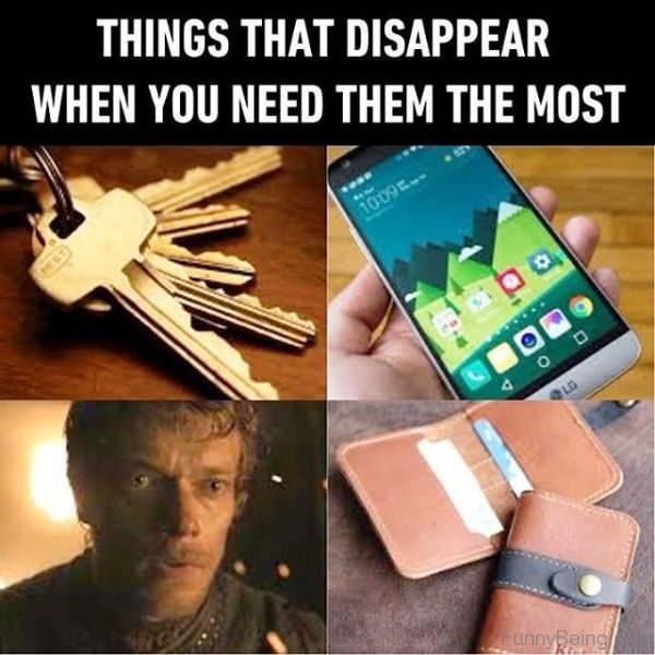 Things That Disappear