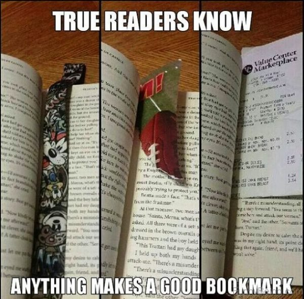 True Readers Know Anything Makes