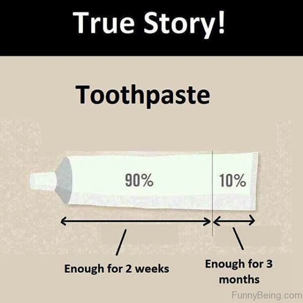 True Story Toothpaste