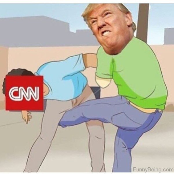 Trump Hitting CNN Badly