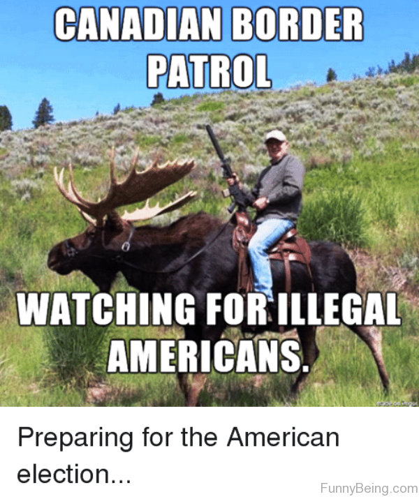 Watching For Illegal Americans