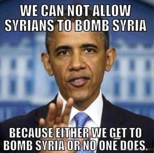 We Can Not Allow Syrians To Bomb