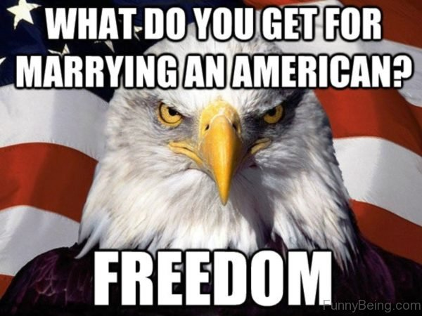 What Do You Get For Marrying An American