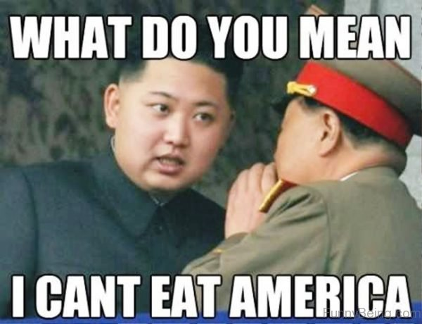 What Do You Mean I Cant Eat America