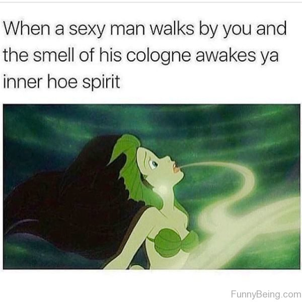 When A Sexy Man Walks By You