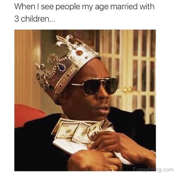 When I See People My Age Married