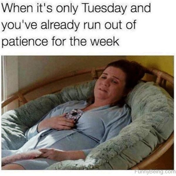 When Its Only Tuesday