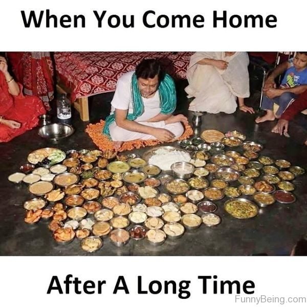 When You Come Home After A Long Time