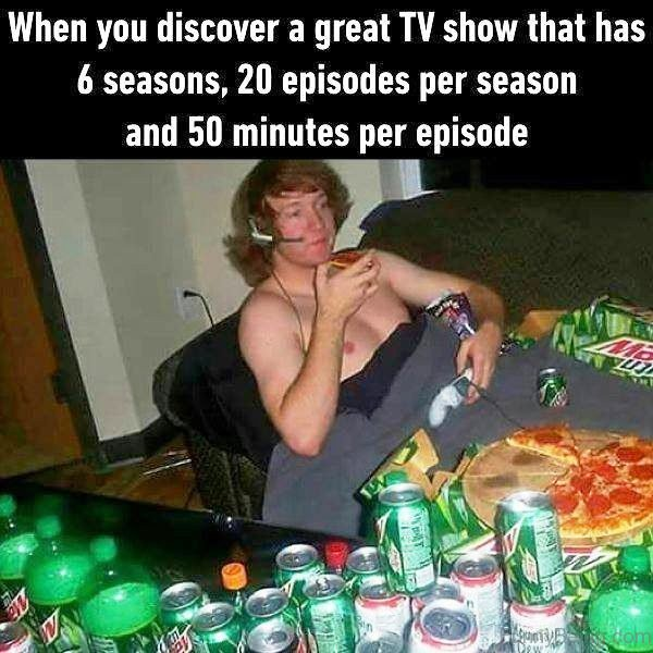 When You Discover A Great TV Show