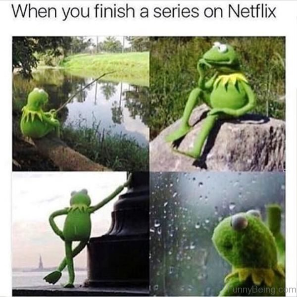 When You Finish A Series On Netflix