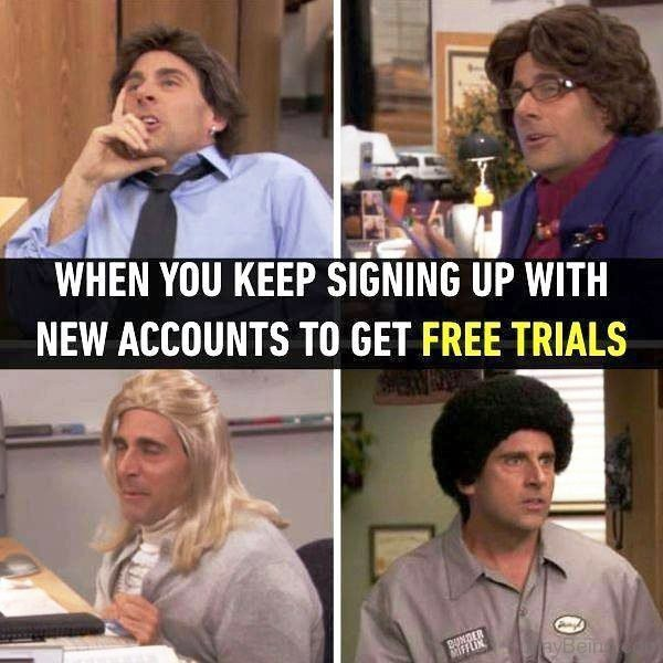 When You Keep Signing Up