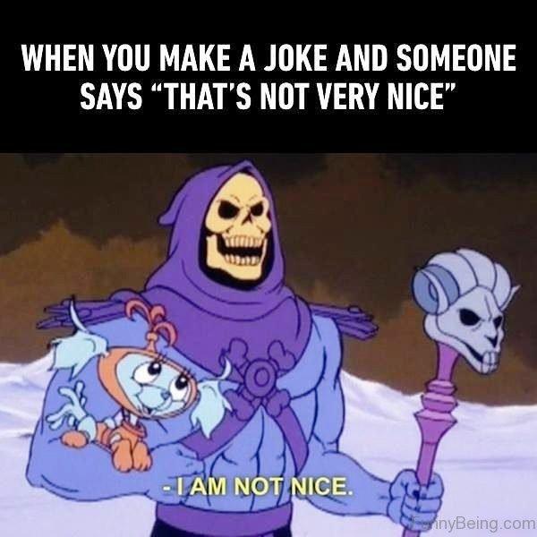 When You Make A Joke