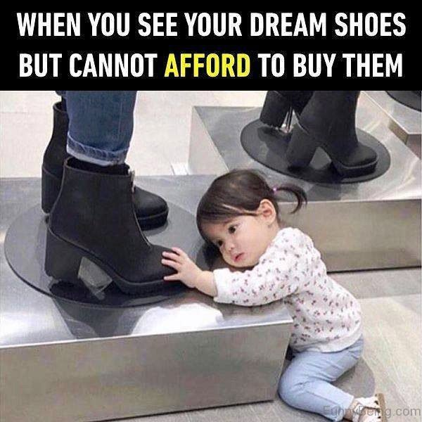 When You See Your Dream Shoes