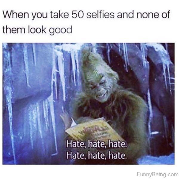 When You Take 50 Selfies