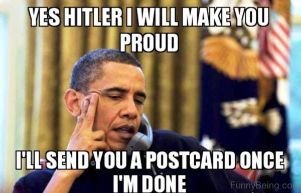 Yes Hitler I Will Make You Proud
