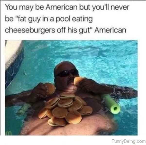 You May Be American