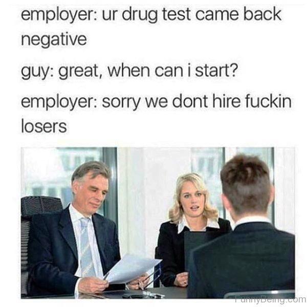 Your Drug Test Came Back Negative