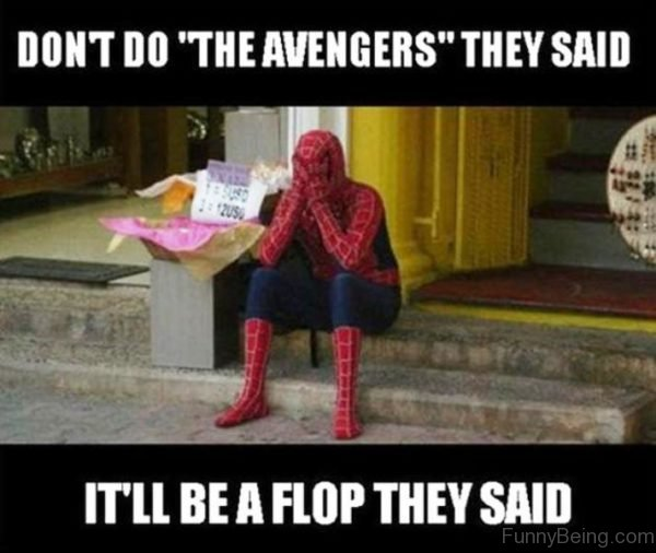 Dont Do The Avengers They Said