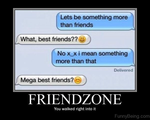 Friendzone You Walked Right Into It