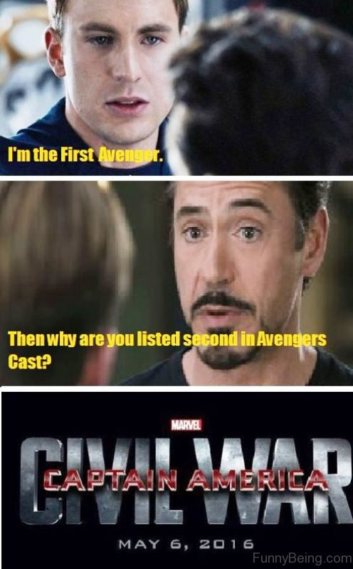 Im The First Avengers