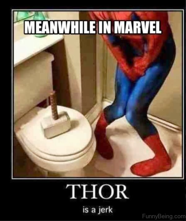 Meanwhile In Marvel