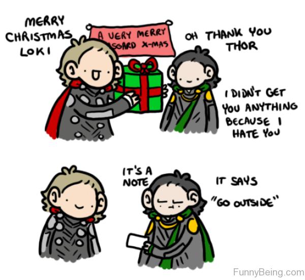 Merry Christmas Loki