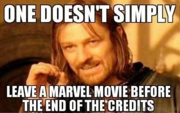 One Doesnt Simply Leave A Marvel Movie