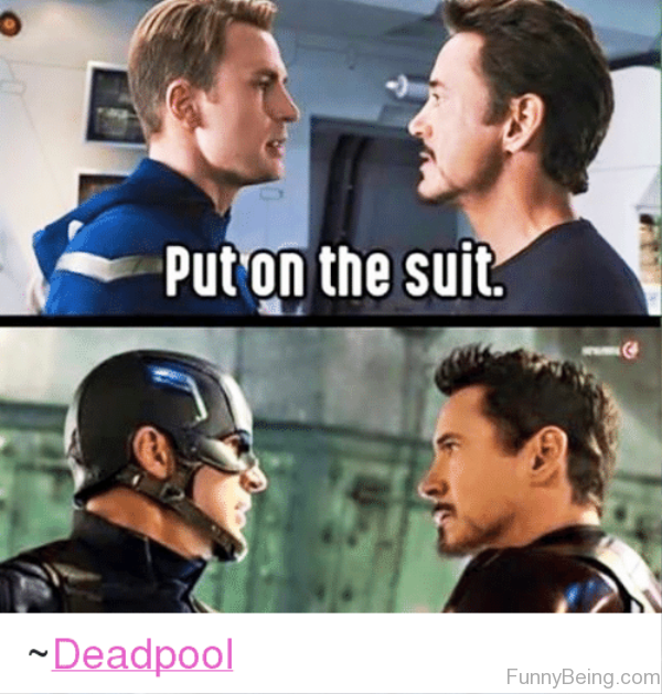 Put OnThe Suit
