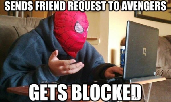 Sends Friend Request To Avengers