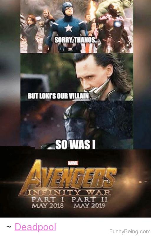 Sorry Thanos