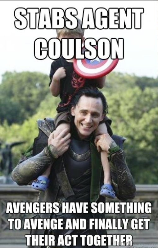 Stabs Agent Coulson