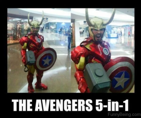 The Avengers 5 In 1