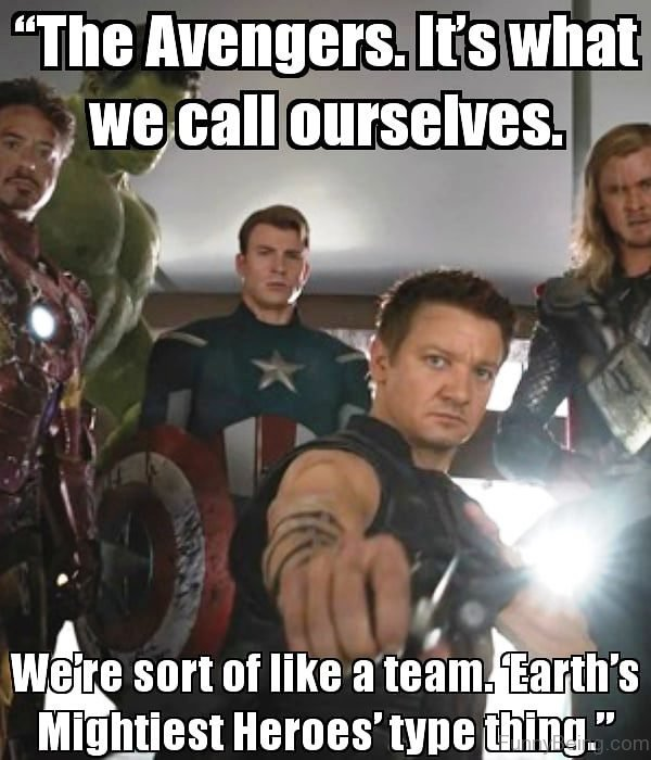 The Avengers Its What We Call Ourselves