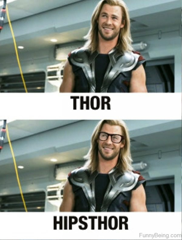 Thor Vs Hipsthor