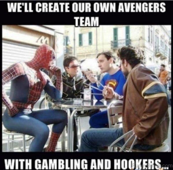 We ll Create Our Own Avengers Team